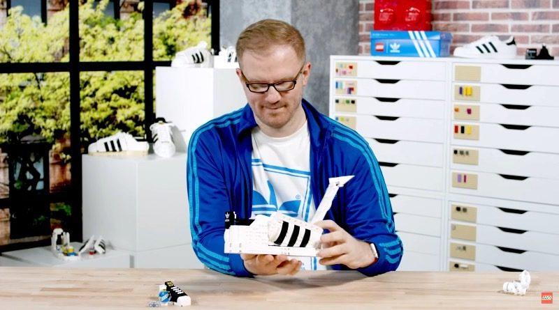 LEGO 10282 Adidas Originals Superstar designer video featured