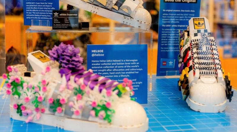 LEGO 10282 Adidas Originals Superstar Custom Display Featured