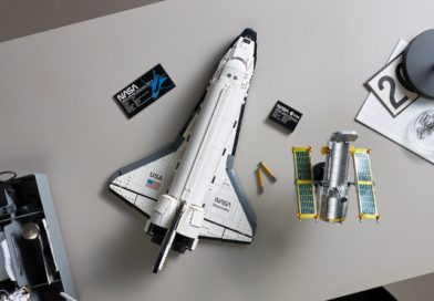 Countdown begins to LEGO 10283 NASA Space Shuttle Discovery liftoff