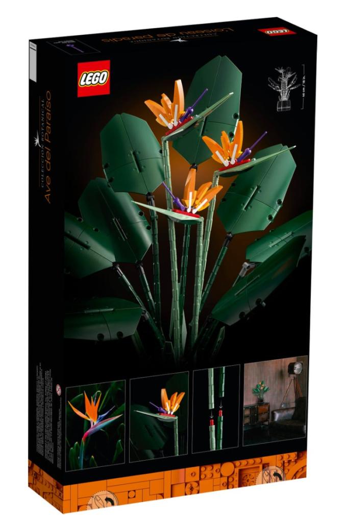 LEGO 10289 Bird of Paradise box back