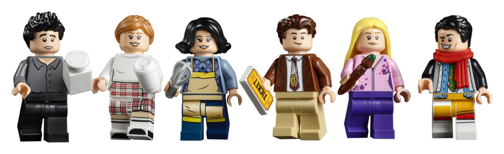 LEGO 10292 Friends Apartments 13