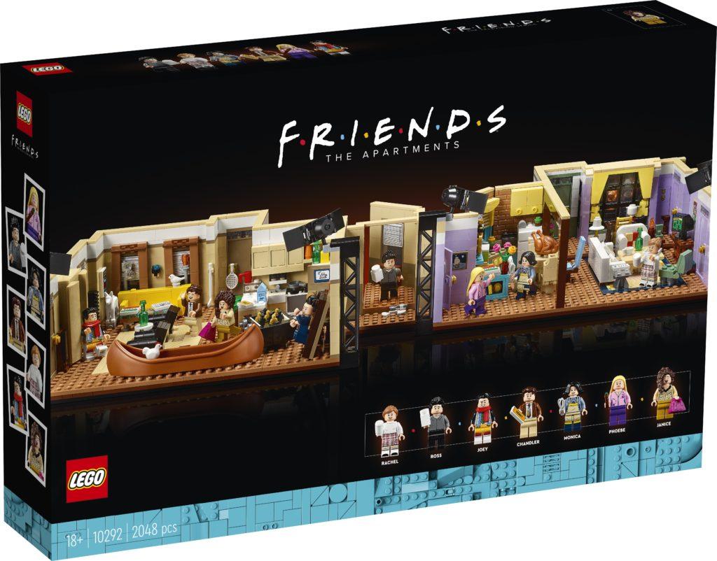 LEGO 10292 Friends Apartments 3