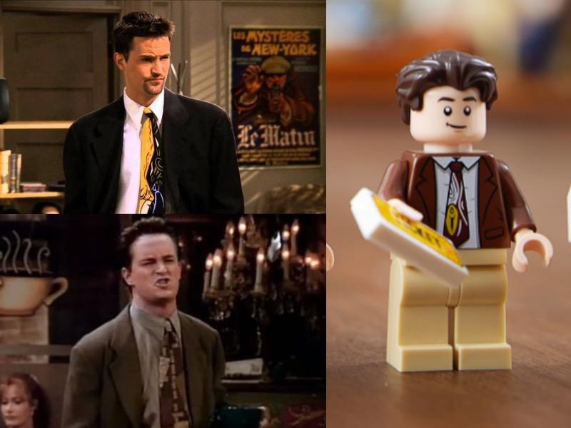 LEGO 10292 Friends Apartments Chandler Comparison