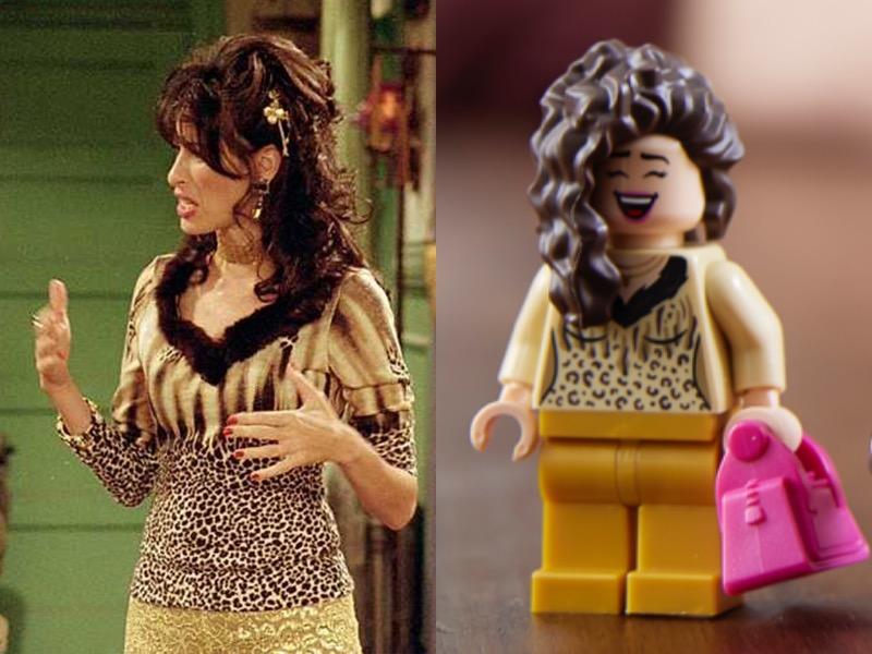 LEGO 10292 Friends Apartments Janice Comparison