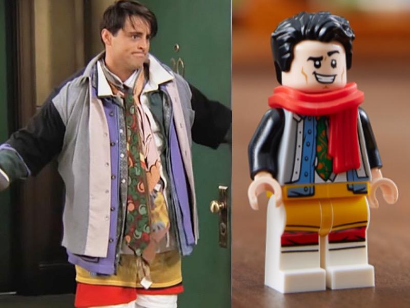 LEGO 10292 Friends Apartments Joey Comparison