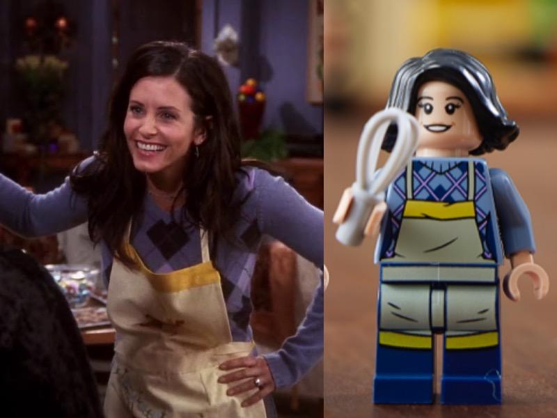 LEGO 10292 Friends Apartments Monica Comparison