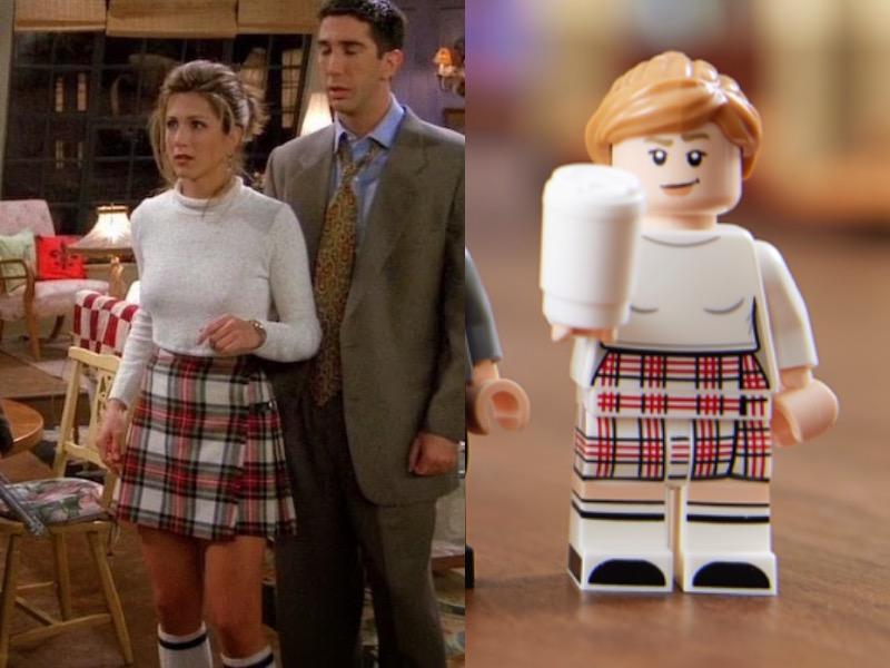LEGO 10292 Friends Apartments Rachel Comparison