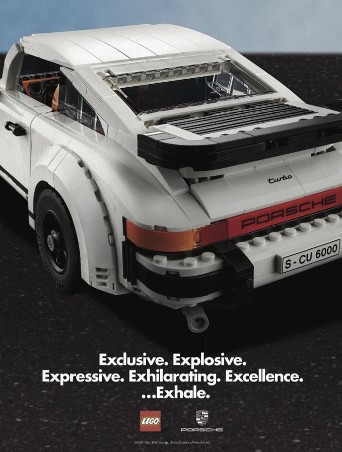 LEGO 10295 Porsche 911 Art Print 1