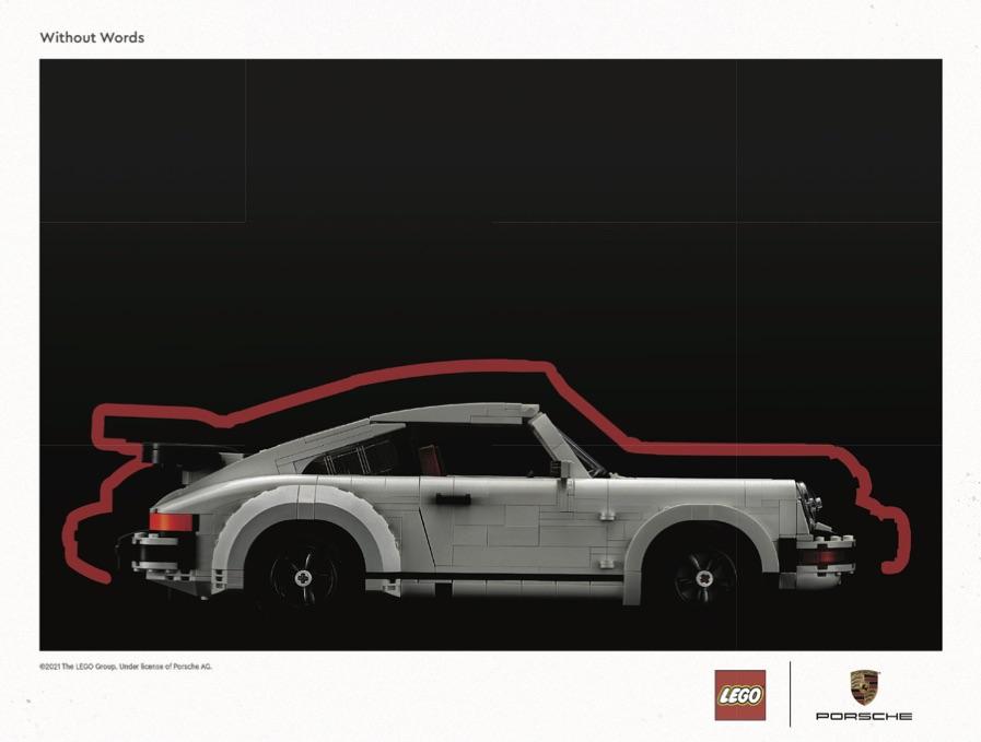 LEGO 10295 Porsche 911 Art Print 2
