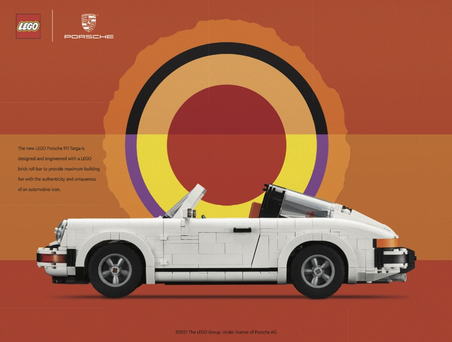LEGO 10295 Porsche 911 Art Print 3
