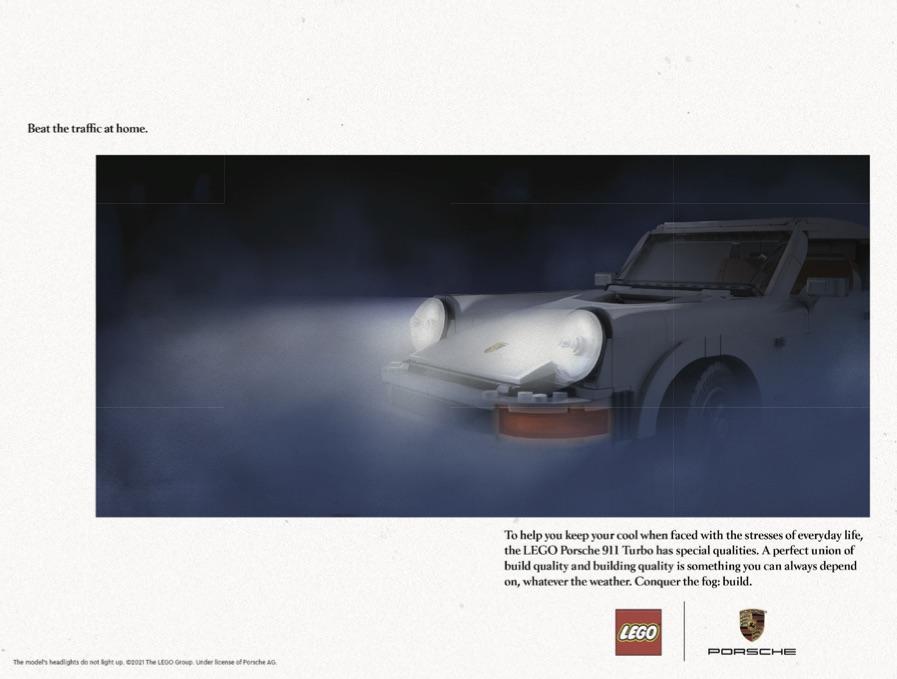 LEGO 10295 Porsche 911 Art Print 4