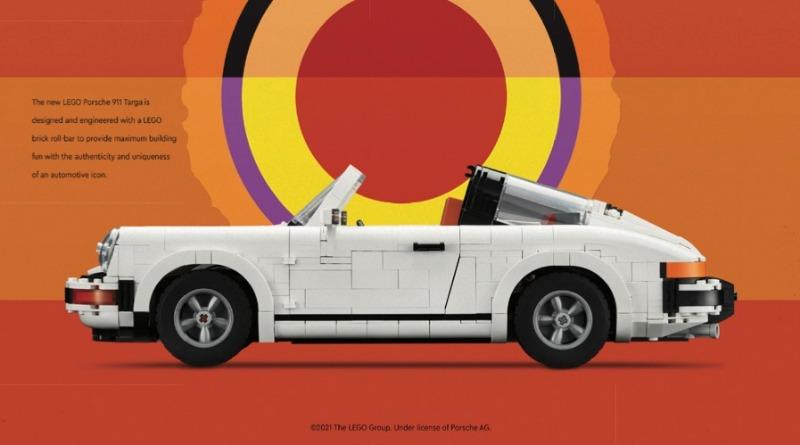 LEGO 10295 Porsche 911 Art Print Featured