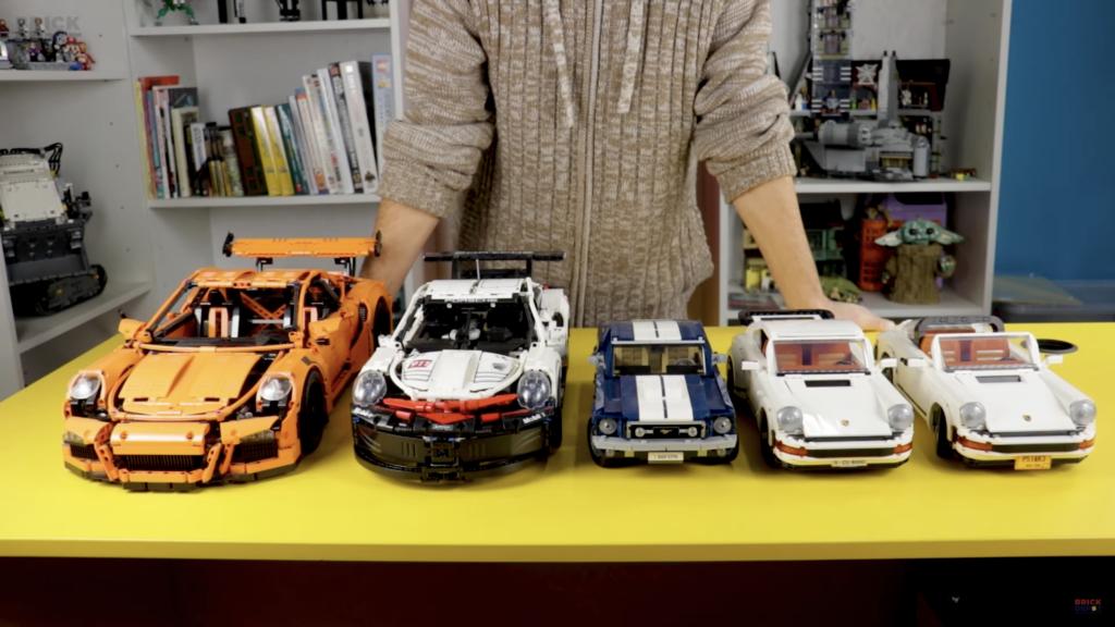 LEGO 10295 Porsche 911 Comparison