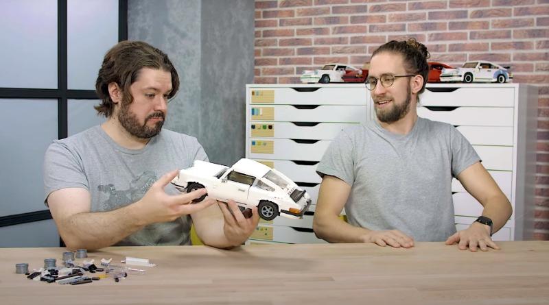 LEGO 10295 Porsche 911 Designer Video Featured
