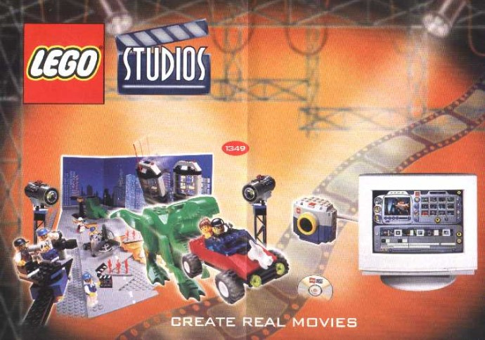 LEGO 1349 Steven Spielberg Movie Maker