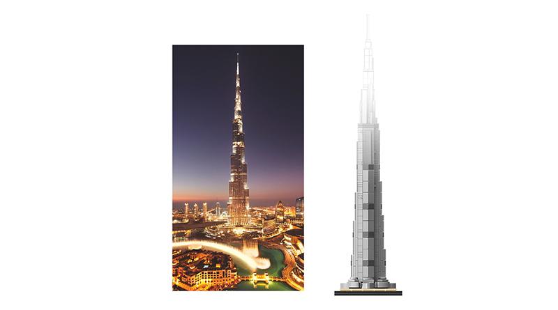 LEGO 21055 Burj Khalifa Featured