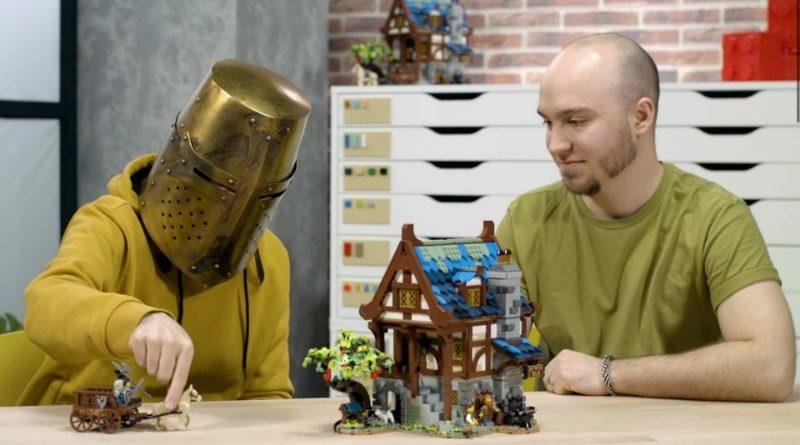 LEGO 21325 Medieval Blacksmith designer video featured
