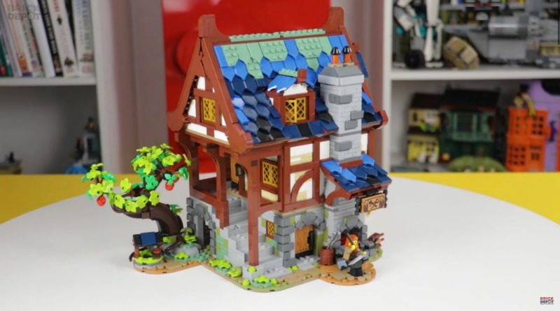LEGO 21325 Medieval Blacksmith first look featured