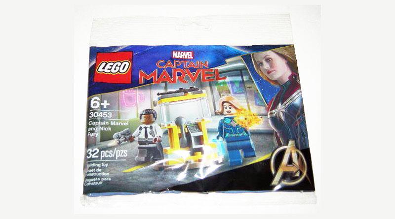 LEGO 30453 Captain Marvel Nick Fury Featured