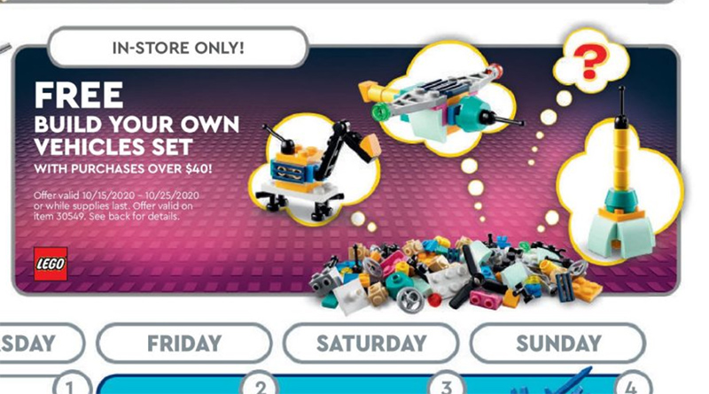 LEGO 30549 Build Your Own Vehicles Featured