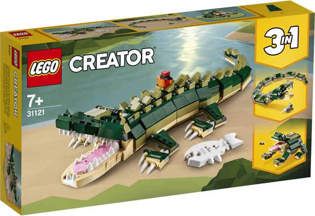 LEGO 31121 Crocodile 1