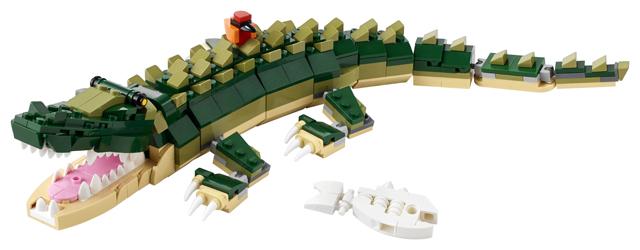 LEGO 31121 Crocodile 2
