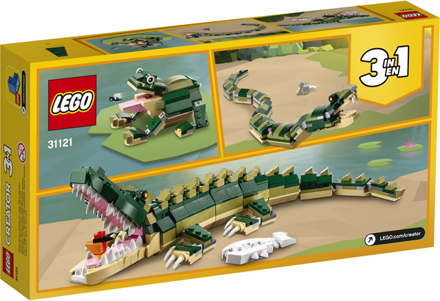 LEGO 31121 Crocodile 3