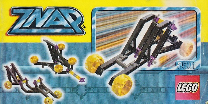 LEGO 3501 Znap jet car