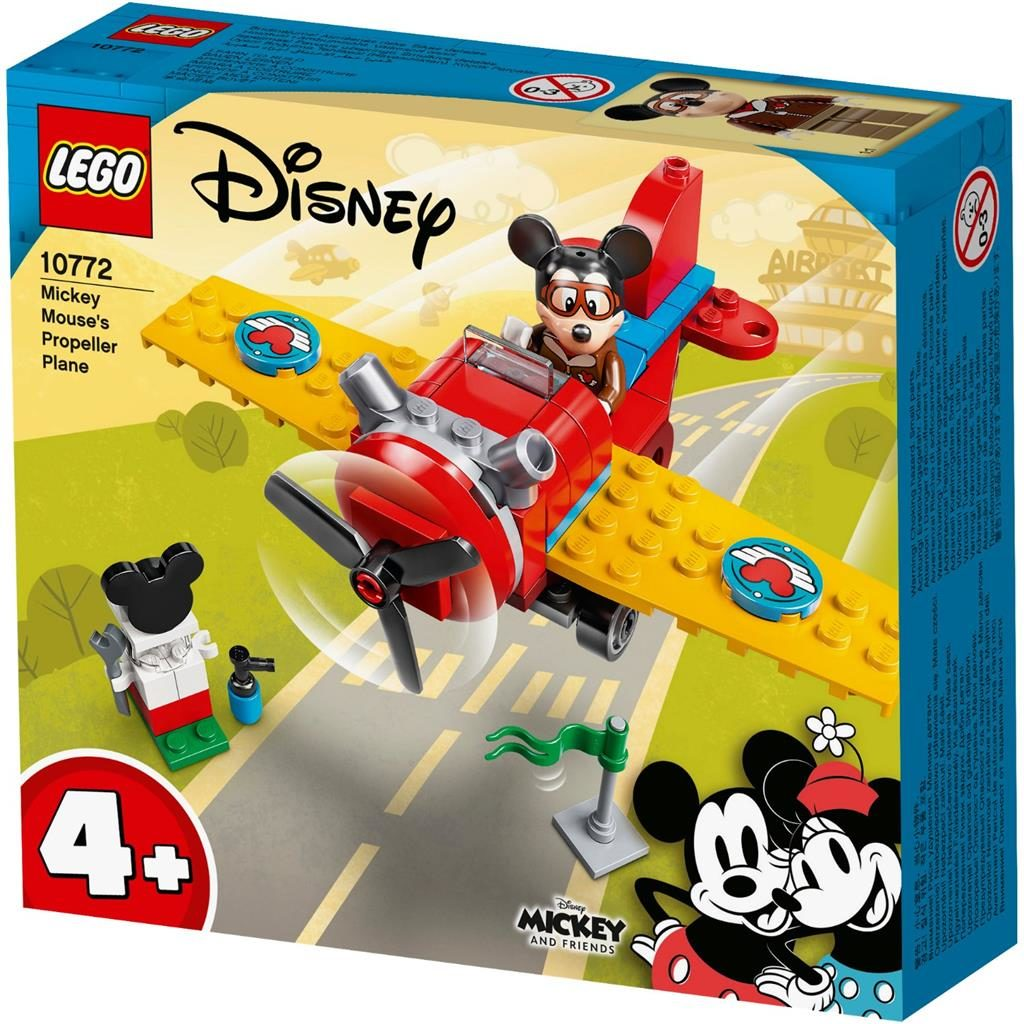 LEGO 4 10772 MICKEY MOUSES PROPELLER PLANE 1 1