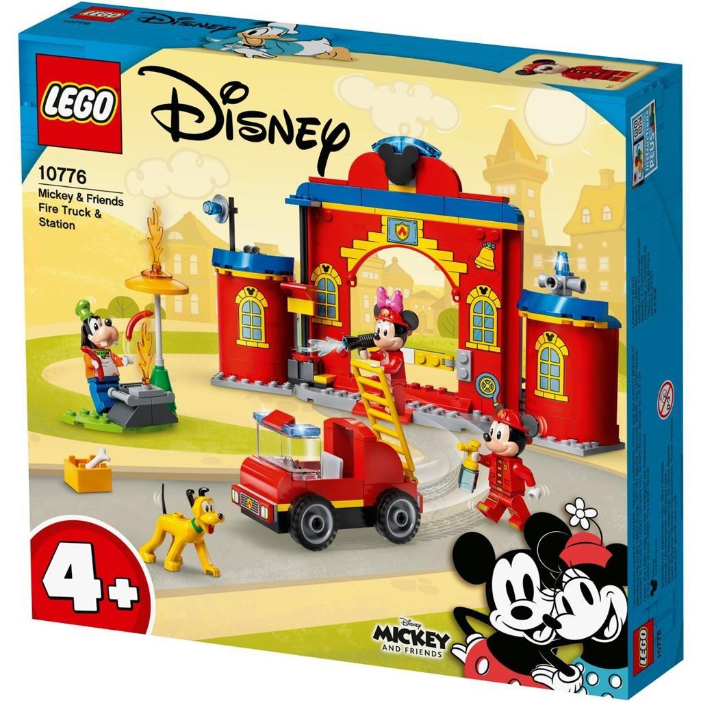 LEGO 4 10776 MICKEY FRIENDS FIRE STATION EN TRUCK 1