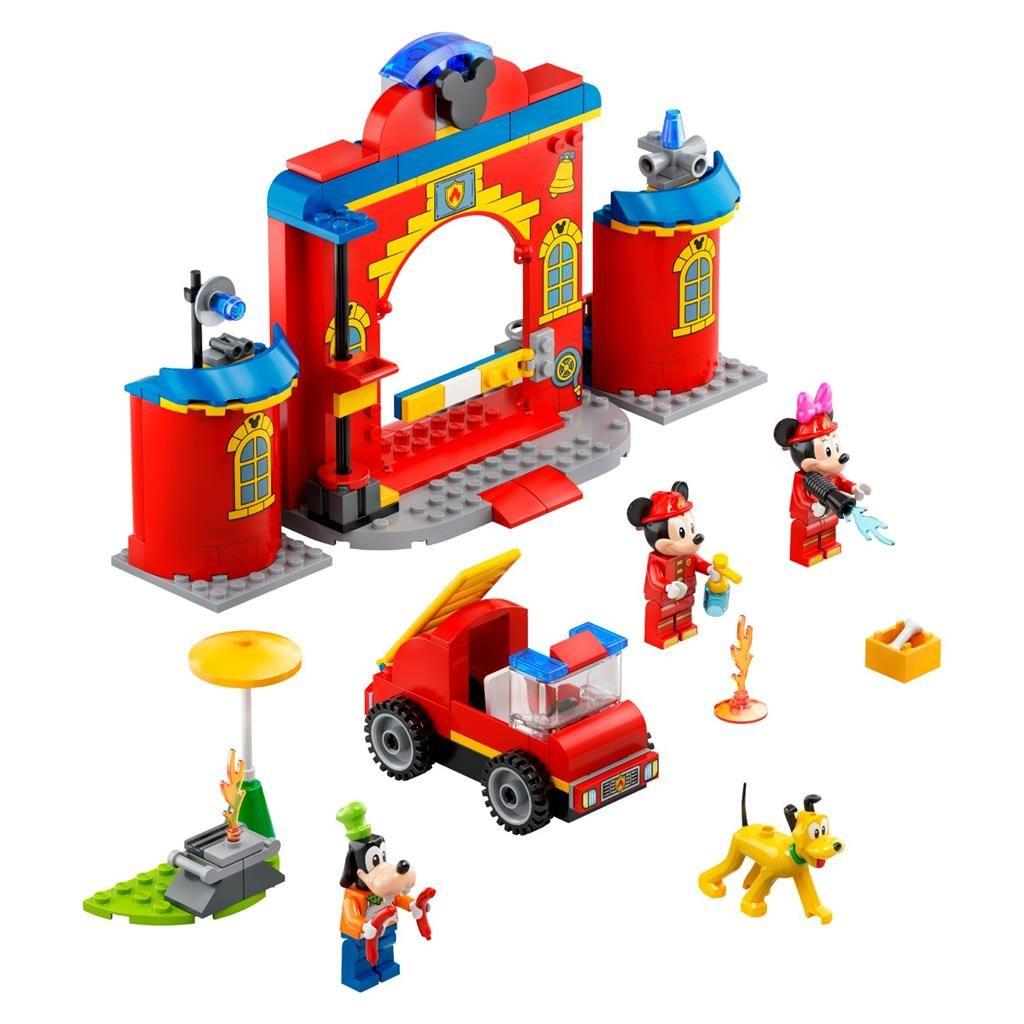 LEGO 4 10776 MICKEY FRIENDS FIRE STATION EN TRUCK 2