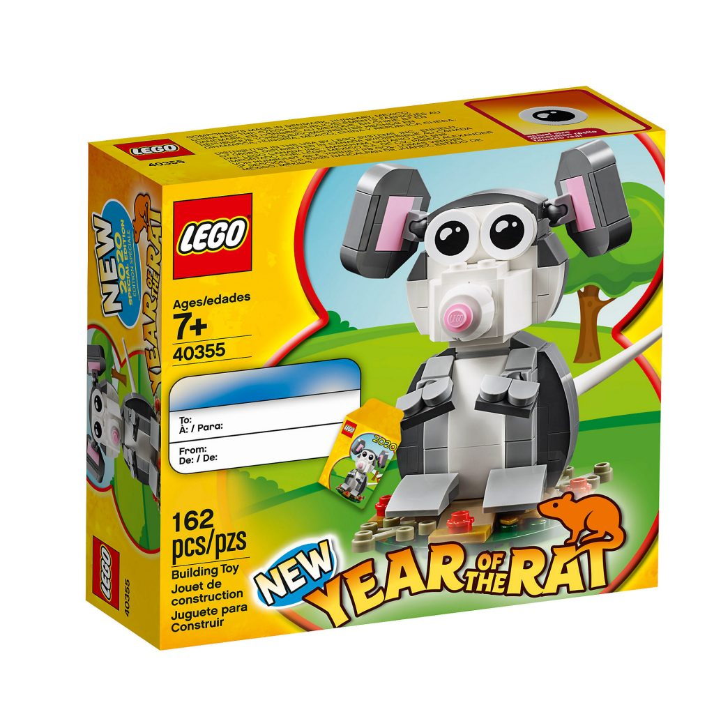 LEGO 40355 Year Of The Rat 1