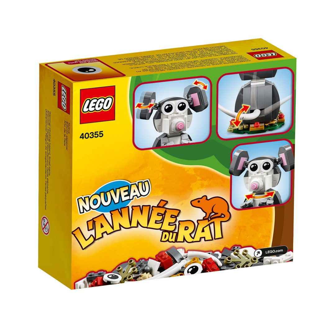 LEGO 40355 Year Of The Rat 2