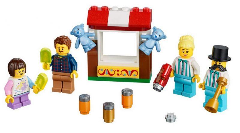 LEGO 40373 Fairground Minifigure Accessory Set Featured 800 445 800x445