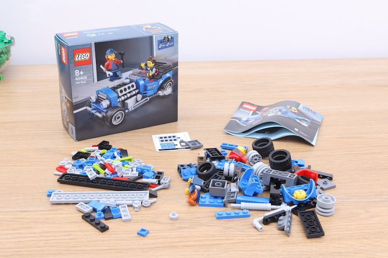 LEGO 40409 Hot Rod Review 1