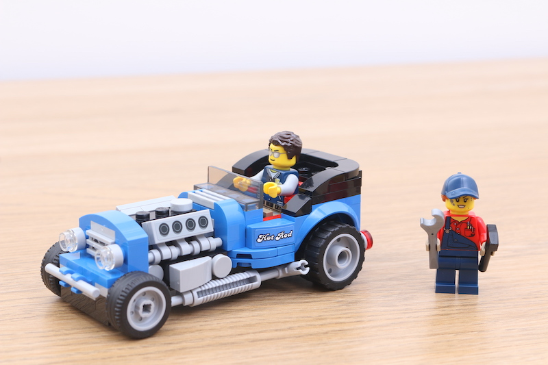 LEGO 40409 Hot Rod Review 12