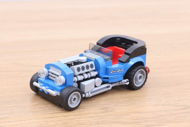 LEGO 40409 Hot Rod Review 5