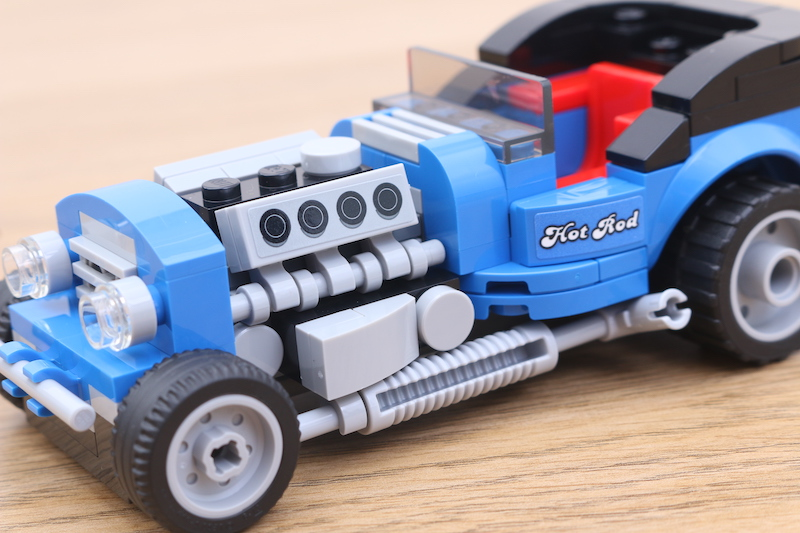 LEGO 40409 Hot Rod Review 9
