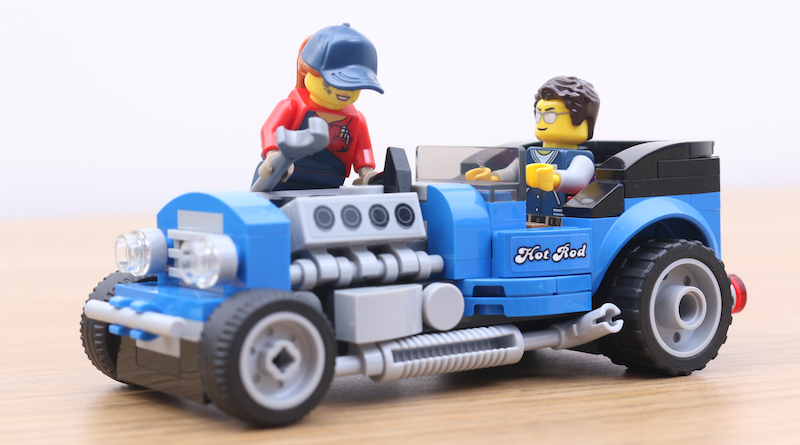 LEGO 40409 Hot Rod Review Title