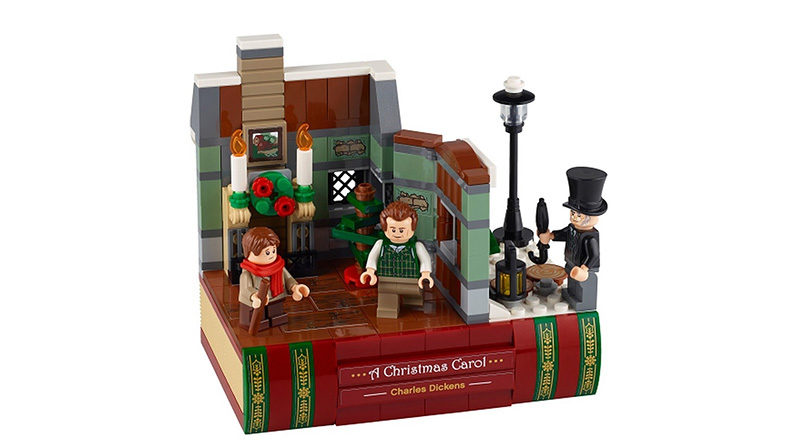 LEGO 40410 Charles Dickens Tribute Featured 800x445