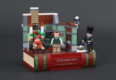 LEGO 40410 Charles Dickens Tribute GWP is back at LEGO.com