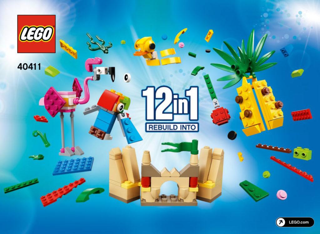 LEGO 40411 12 In 1 Rebuild