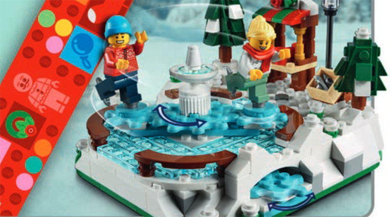 LEGO 40416 Ice Skating Rink Featured