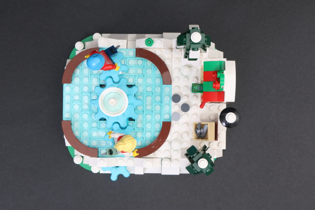 LEGO 40416 Ice Skating Rink Gift With Purchase Review 3