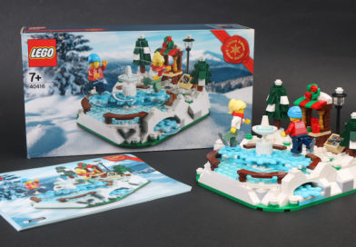 LEGO 40416 Ice Skating Rink gift with purchase review