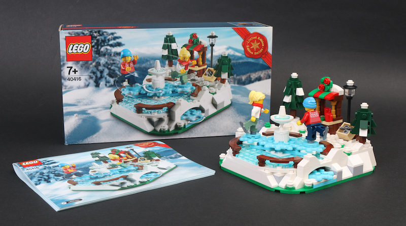 LEGO 40416 Ice Skating Rink gift with purchase review title