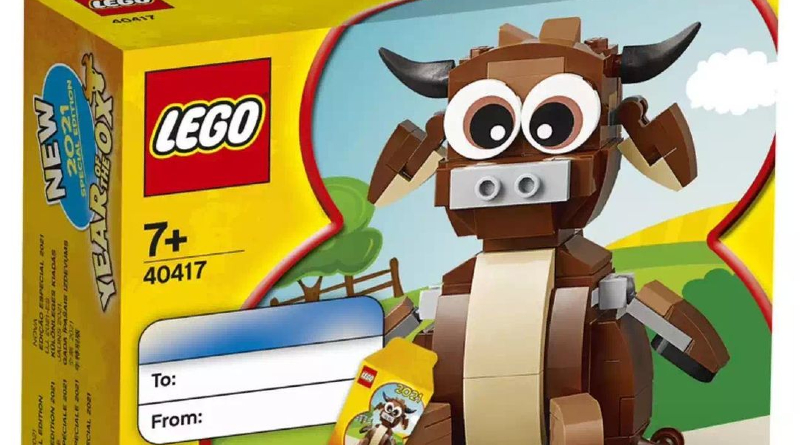 LEGO 40417 Year Of The Ox Featured