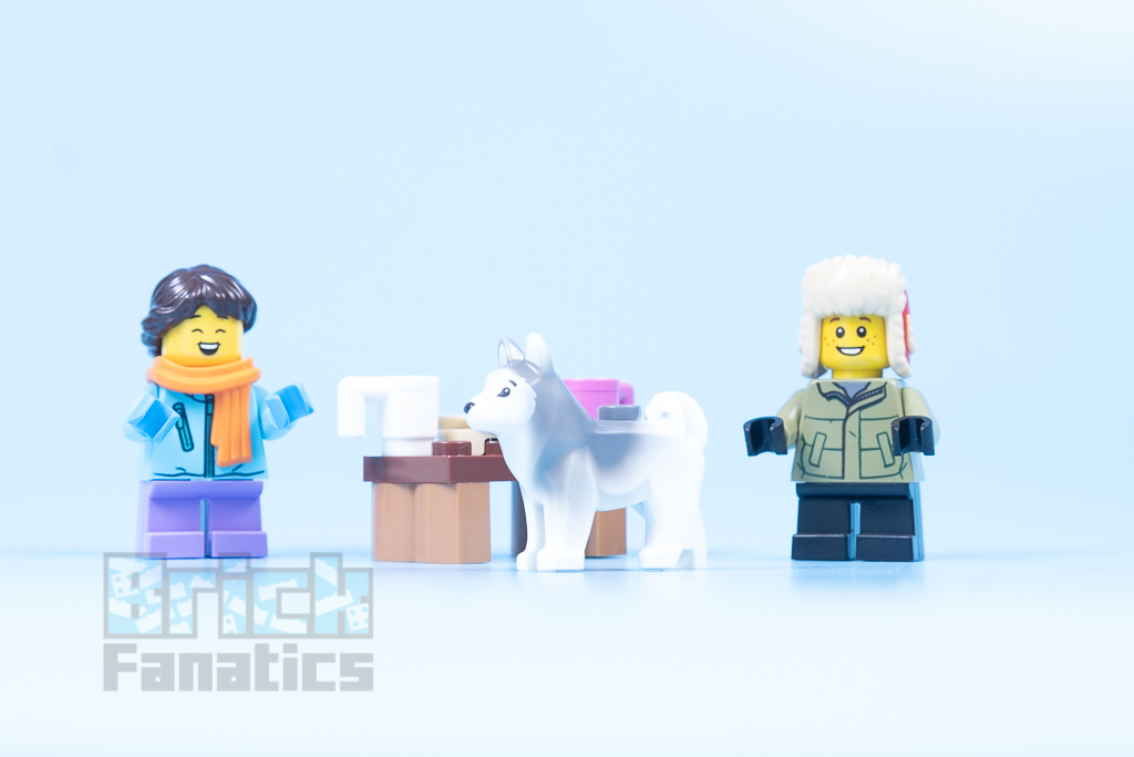 LEGO 40424 Snowball Fight 10