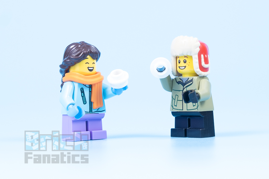 LEGO 40424 Snowball Fight 12