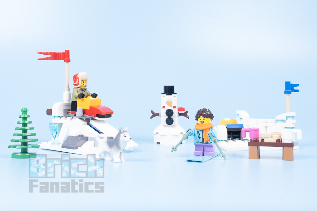 LEGO 40424 Snowball Fight 2